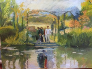 Young Artists at Giverny, France