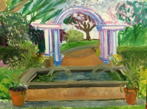Pergola at Frelinghuysen